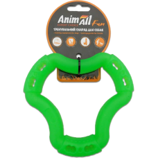 AnimAll Fun Кольцо 6 сторон для собак, зеленый