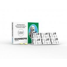 Bioveta Каниверм - таблетки против гельминтов для собак и котов