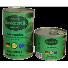 Baskerville для кошек (мясо оленя и птицы)