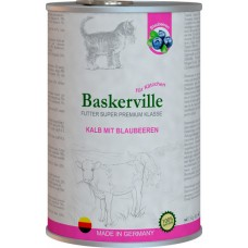Baskerville для котят (телятина и черника)