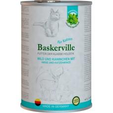 Baskerville Holistic для кошек (оленина, кролик, пшено и кошачья мята)