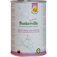 Baskerville Holistic (утка и кабан с тыквой и зеленью)