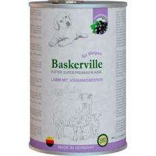 Baskerville Super Premium для щенков (ягненок и смородина)