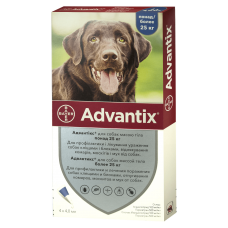 Bayer Advantix для собак 25-40 кг