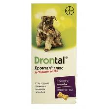 Bayer Drontal  ПЛЮС таблетки против гельминтов для собак