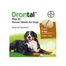 Bayer Drontal  ПЛЮС XL  таблетки против гельминтов для собак крупных пород