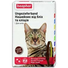 Beaphar Ошейник от блох и клещей для кошек 35 см (двухцветный)