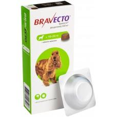 Bravecto Бравекто жевательная таблетка от блох и клещей для собак весом 10-20 кг