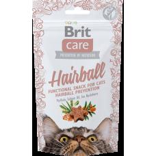 Brit Care Functional Snack  Hairball Лакомство для выведения шерсти из желудка