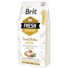 Brit Fresh Adult with Chicken and Potato (курица и картофель)