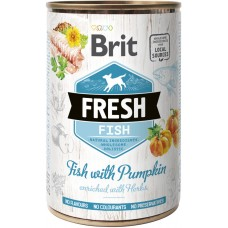 Brit Fresh Adult with Fish and Pumpkin (рыба и тыква)