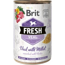 Brit Fresh Adult with Veal and Millet (телятина и пшено)