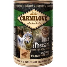 Carnilove Grain Free Dog Adult (утка и фазан)