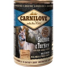 Carnilove Grain Free Dog Adult (лосось и индейка)