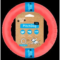 PitchDog Кольцо игрушка для собак, розовый