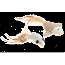 Comfy Игрушка рыбка + мышка