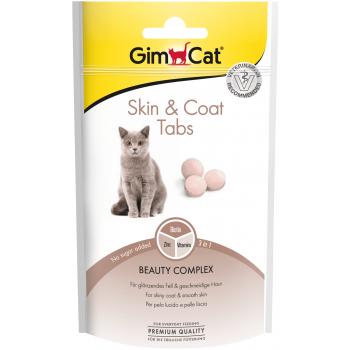 GimCat Every Day Skin&Coat -  витаминизированные таблетки для поддержание блестящей и здоровой шерсти кошек