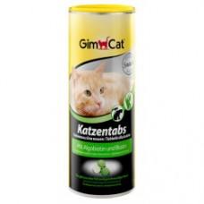 GimCat Katzentabs - витаминизированные лакомства для кошек, с  алгобиотином и биотином
