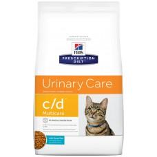 Hill's PD Feline C/D Urinary Care (с океанической рыбой)
