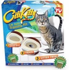 CitiKitty Cat Toilet Training Kit - набор для приучения кошки к унитазу