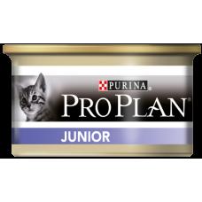 Purina Pro Plan Junior для котят (паштет с курицей)