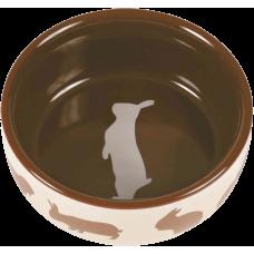 Trixie Миска керамическая для кролика, 0,25 л/11 см